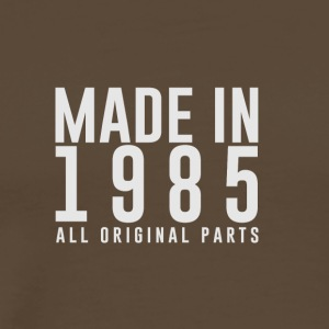 MADE IN 1985 - GEBOORTEJAAR - Mannen Premium T-shirt