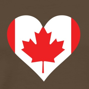 A Heart For Canada - Men's Premium T-Shirt