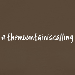 The mountain calls - Men's Premium T-Shirt