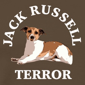 Jack Russell terror3 blanc - T-shirt Premium Homme