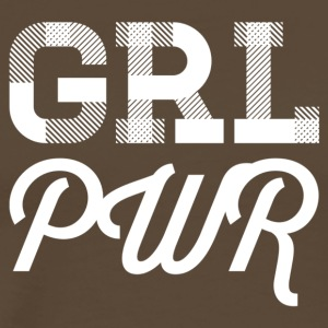 girl power - blanc - T-shirt Premium Homme