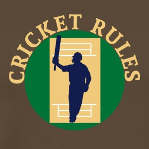 Cricket Regels - Mannen Premium T-shirt