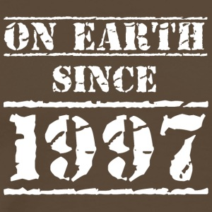 on earth since 1997 20th birthday 20th birthday - Men's Premium T-Shirt