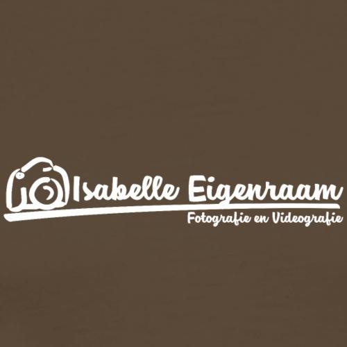 Isabelle Eigenraam Fotografie Videografie wit - Mannen Premium T-shirt