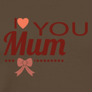 i love you mom - Men's Premium T-Shirt