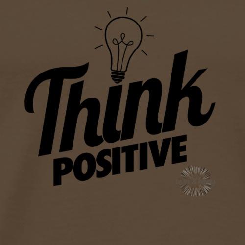 Think positive - Männer Premium T-Shirt