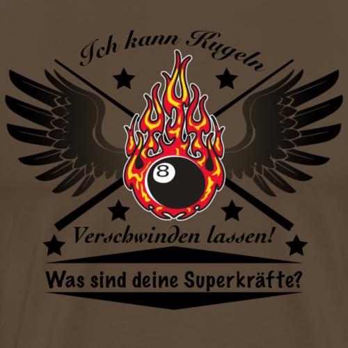 Pool Billard Design - Männer Premium T-Shirt
