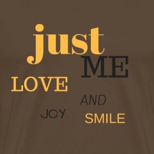 JUST ME - Premium T-skjorte for menn