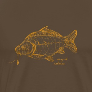 carp and release - Men's Premium T-Shirt