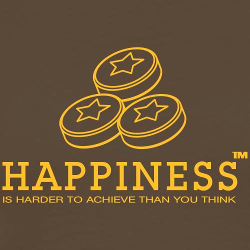 Happiness - Männer Premium T-Shirt