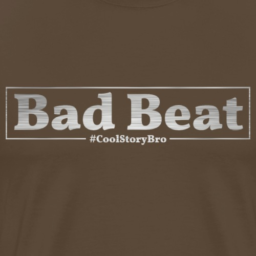 Poker Bad Beat - Männer Premium T-Shirt