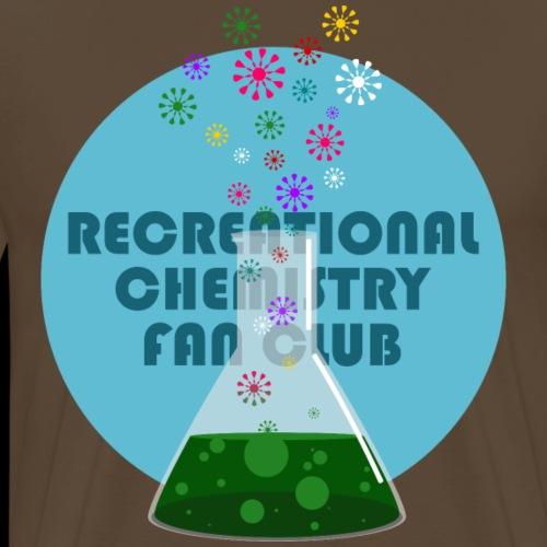 Recreational Chemistry Fan Club (azul) - Camiseta premium hombre