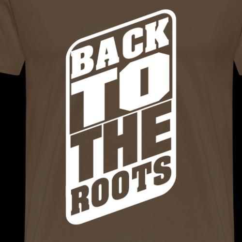 BackToTheRoots - Männer Premium T-Shirt