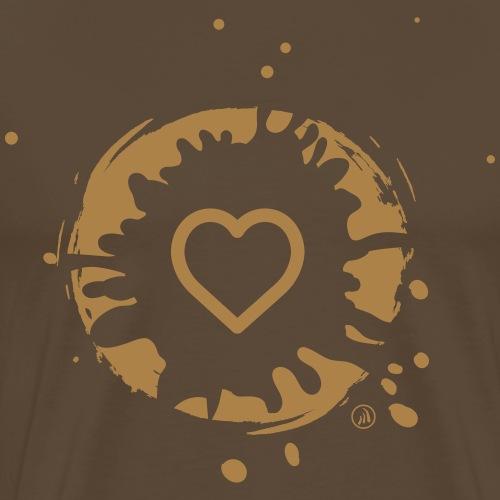 Coeur et boue - T-shirt Premium Homme