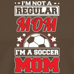 NOT A REGULAR MOM - SOCCER MOM - Men's Premium T-Shirt