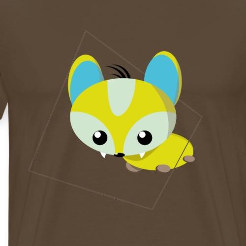 fixundfoxi flat design - Männer Premium T-Shirt