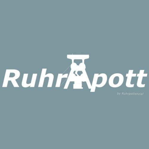 Ruhrpott (weiß) - Männer Premium T-Shirt
