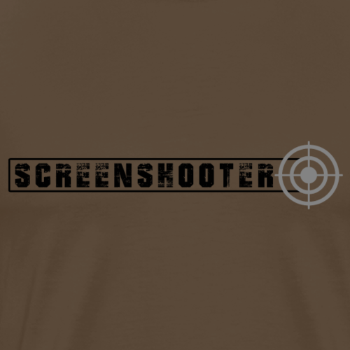 Screenshooter - Männer Premium T-Shirt