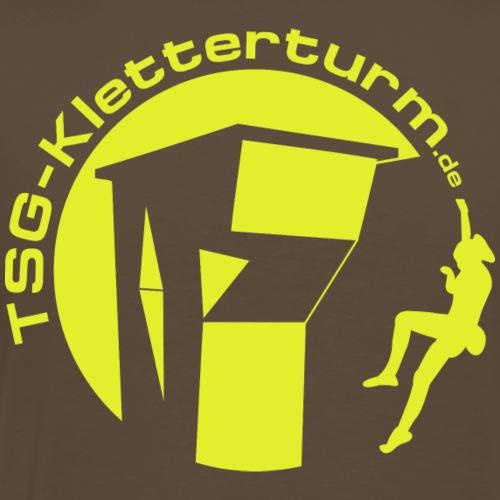 Druck Gelb - Männer Premium T-Shirt