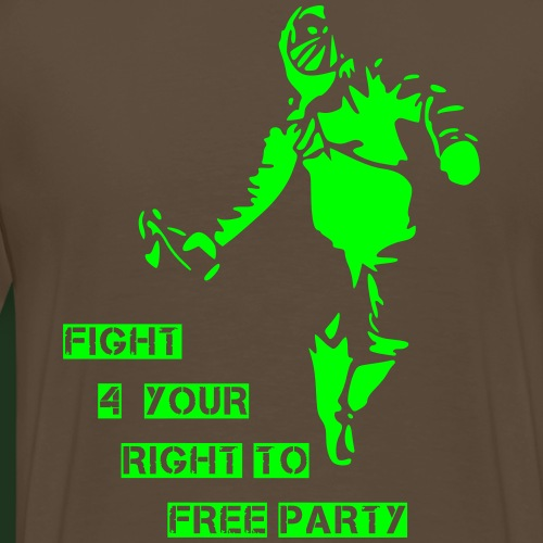 fight for your right - Männer Premium T-Shirt