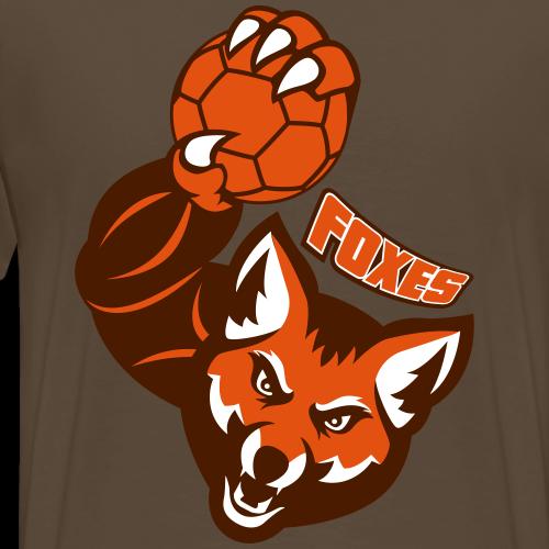 Foxes handball - T-shirt Premium Homme