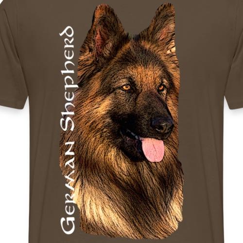Schaeferhund,hundekopf,Schäferhund,Hundesport,Hund - Männer Premium T-Shirt