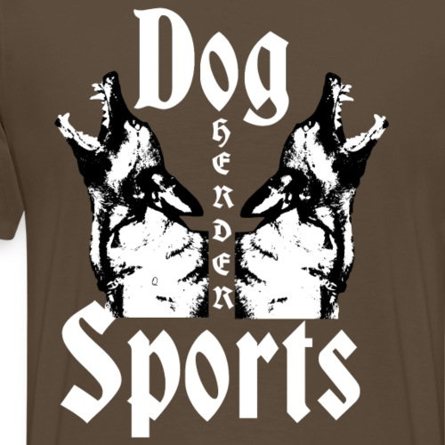 Herder ,Hundesport,Hunderasse, - Männer Premium T-Shirt