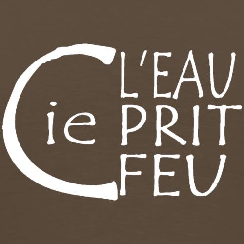 logo LEPF BLANC - T-shirt Premium Homme
