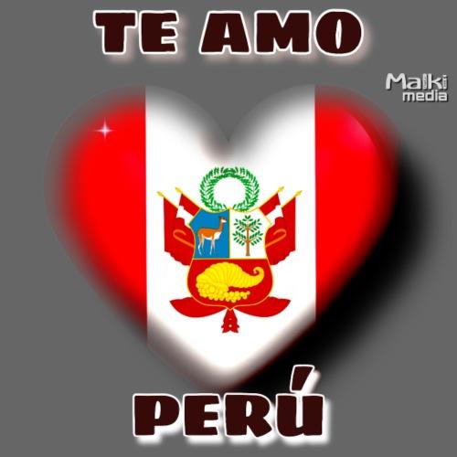Te Amo Peru Corazon - Men's Premium T-Shirt