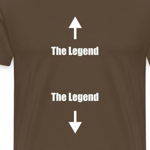The Legend The Legend - Men's Premium T-Shirt