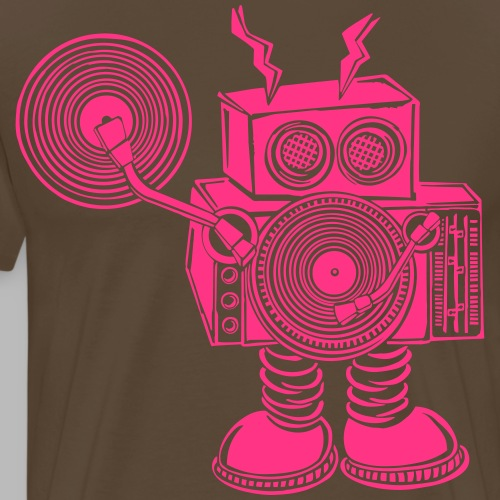 Hey Mr DJ ✴CUSTOMISABLE DESIGN✴ - Men's Premium T-Shirt