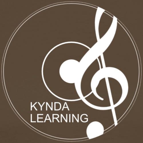 New Kynda Learning Logo WHT - Men's Premium T-Shirt