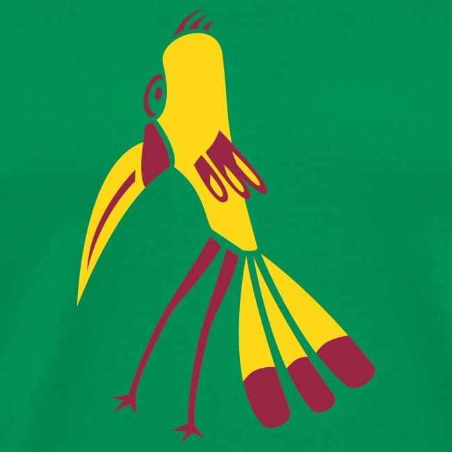 Gelb-Schnabel-Vogel