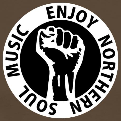 Digital - Enjoy Northern Soul Music - nighter keep - Männer Premium T-Shirt