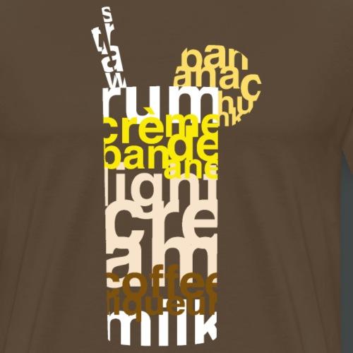 Mixographik - Dirty Banan - T-shirt Premium Homme