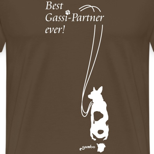 Best Gassi-Partner ever! 1 - Männer Premium T-Shirt