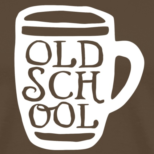 Old School Pint - Men's Premium T-Shirt