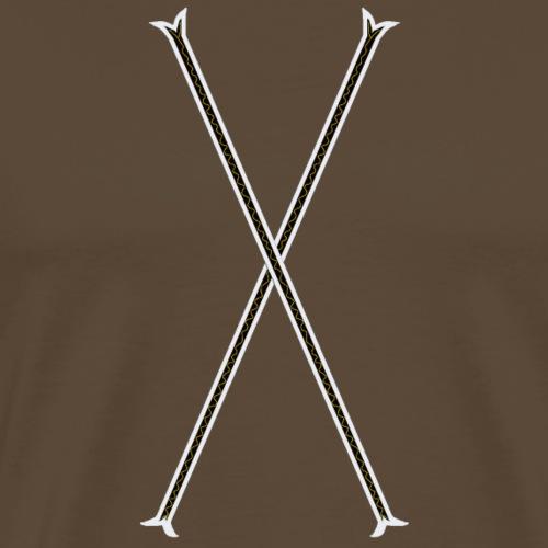 Geborune - Männer Premium T-Shirt
