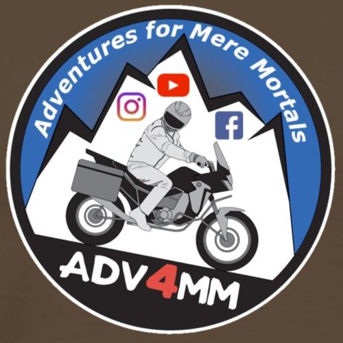 ADV4MM Round Social - Men's Premium T-Shirt