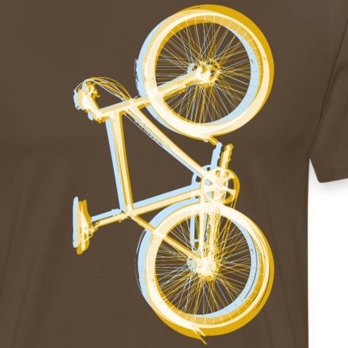 Bike Fahrrad bicycle Outdoor Fun Retro Style - Men's Premium T-Shirt