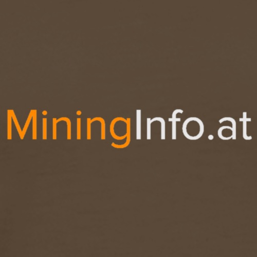MiningInfo.at - Männer Premium T-Shirt