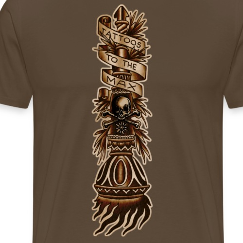 Torch Fackel Tattoos to the Max - Männer Premium T-Shirt