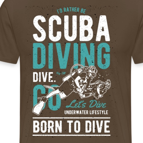 Scuba Diving I - Männer Premium T-Shirt