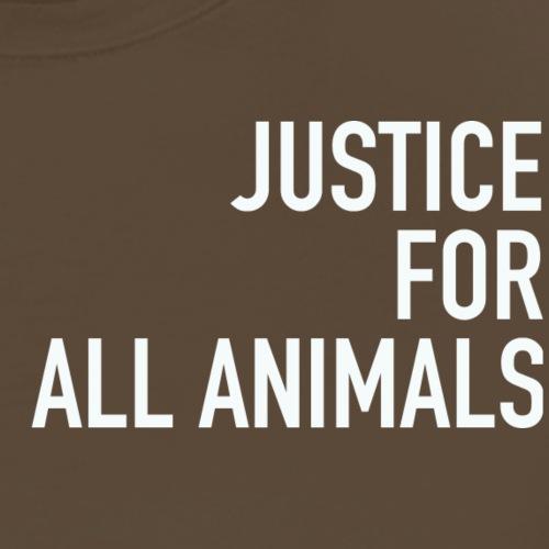 justice white - Männer Premium T-Shirt