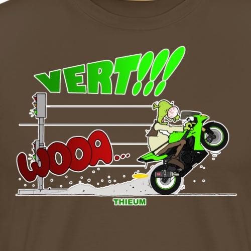Vert - T-shirt Premium Homme