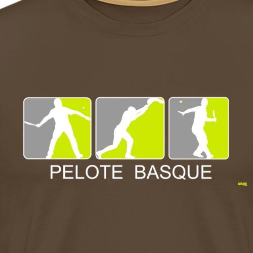 3Joueurs de pelote png - T-shirt Premium Homme
