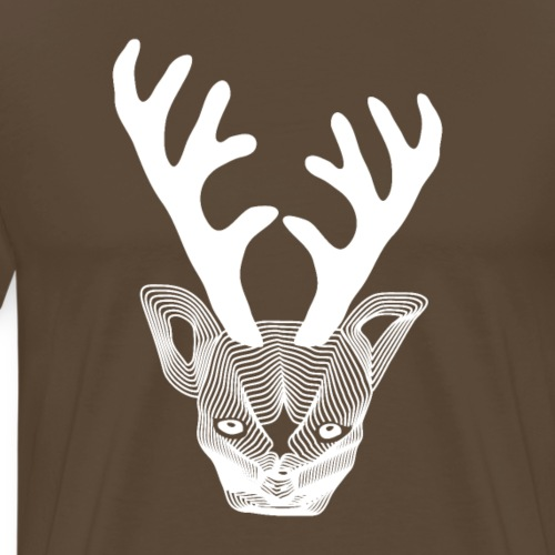 Angry Bambi - T-shirt Premium Homme