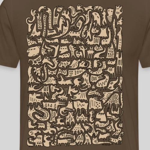 Tierchen 3 - Männer Premium T-Shirt