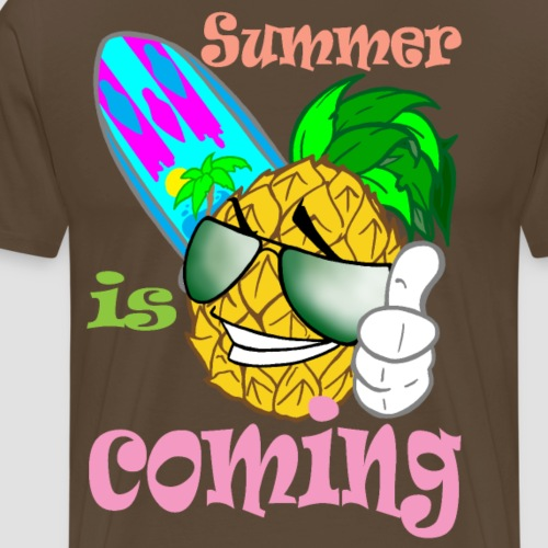 ananas surf - T-shirt Premium Homme