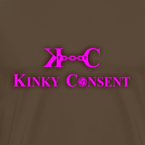 Kinky Consent Official party T shirt - Men's Premium T-Shirt